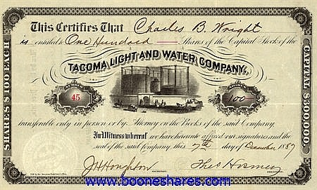 TACOMA LIGHT AND WATER CO.