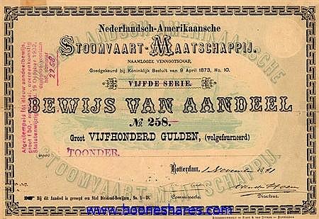 NEDERLANDSCH-AMERIKAANSCHE STOOMVAART-MIJ. N.V.