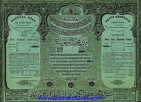 GENERAL DEBT OF THE OTTOMAN EMPIRE