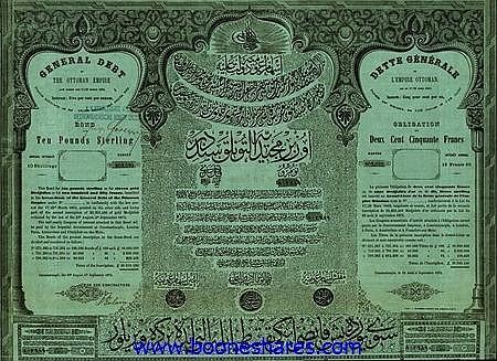 GENERAL DEBT OF THE OTTOMAN EMPIRE
