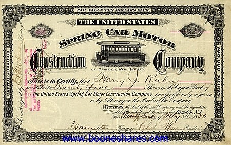 UNITED STATES SPRING CAR MOTOR CONSTRUCTION CO.
