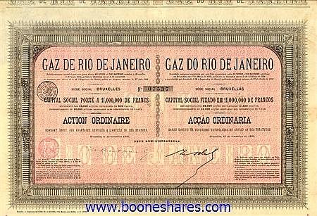 GAZ DE RIO DE JANEIRO S.A.