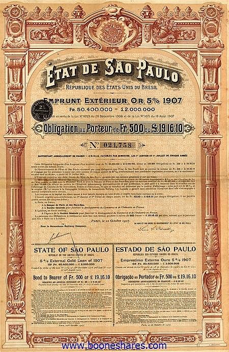 ETAT DE SAO PAULO