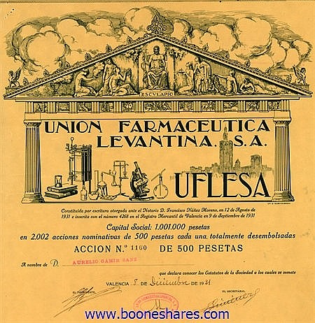 UNION FARMACEUTICA LEVANTINA