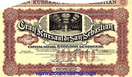 GRAN KURSAAL DE SAN SEBASTIAN S.A.