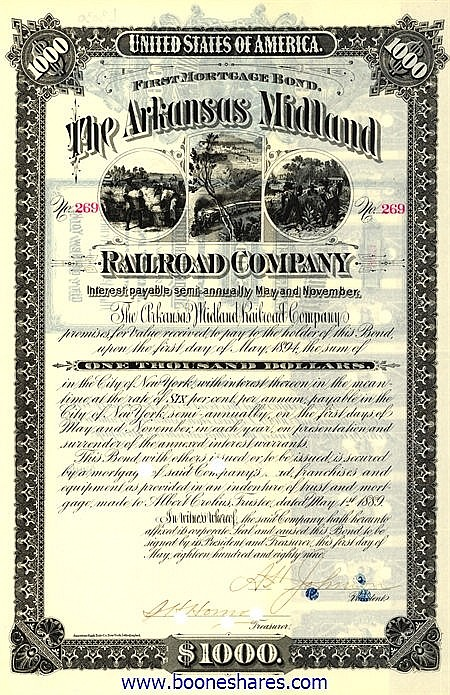 ARKANSAS MIDLAND RAILROAD CO.