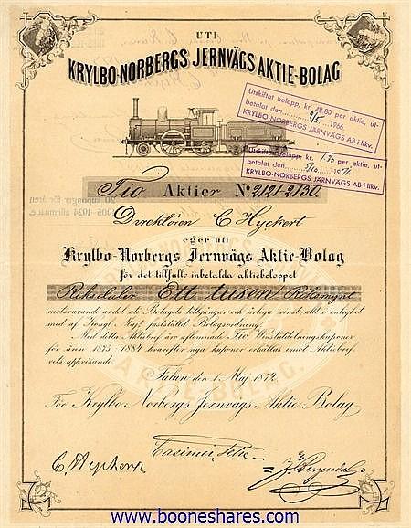 KRYLBO-NORBERGS JERNVAGS A/B