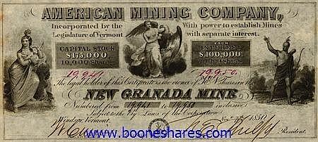 AMERICAN MINING CO., NEW GRANADA MINE