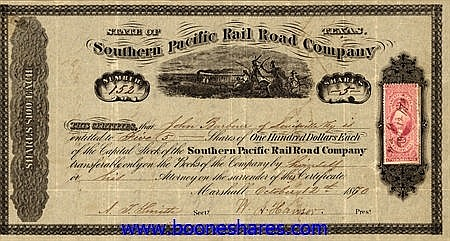 SOUTHERN PACIFIC RAIL ROAD CO.