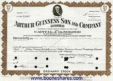 ARTHUR GUINNESS SON & CO. LTD