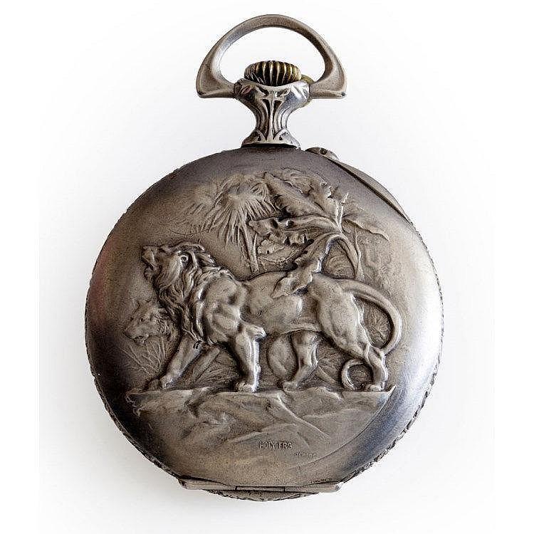 Hy Moser Les Lions N 16474 Vers 1920 Une Belle Montre