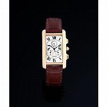 Cartier, Chronorelex, Ref. 1730, n° 258703CD, vers 2000.Un chronographe r