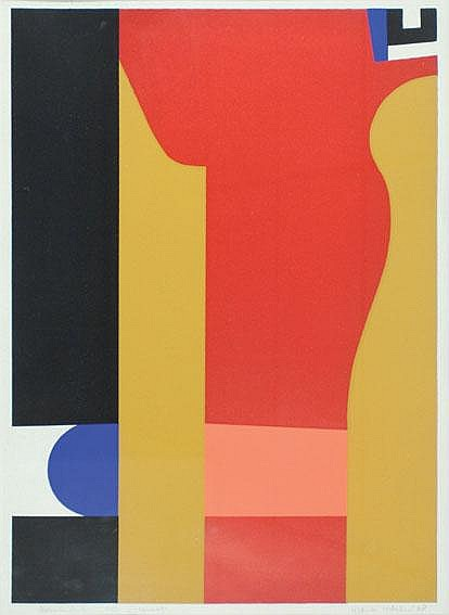 Lodeizen, Frank; lithography in colours edition