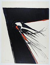 Meyer, Jan (Meijer) 1927-1995, silkscreen, sheet. 760 x 550 cm on Arches, edition 79/80, ÒPavois'