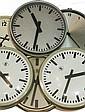 Six slave clocks, TN ao