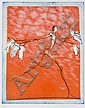 Ronald Tolman, etching in colours, Ronald Tolman, Click for value