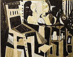 Meijer, Jan 1927-1955 10 drawings in ink 48 x 63