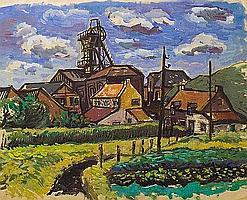 Meijer, Jan 1927-1960 watercolour 48 x 63 cm.