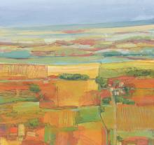 Michael Palmer - Landscape with Square Pond