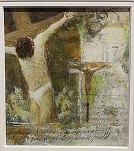 William Thomson - Crucifixion (Sketchbook Series) - 20th Century American Painter (March 16, 1931 - October 9, 2014)