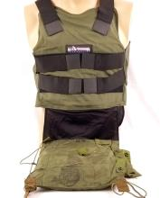 U.S. Armor Personal body Armor & Flotation Bladder