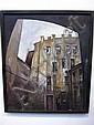 ZAIKINA, MARIA (RUSSIAN): 20th c oil on canvas.