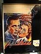 CASABLANCA (1942) MOVIE POSTER: Belgian. 14x 21
