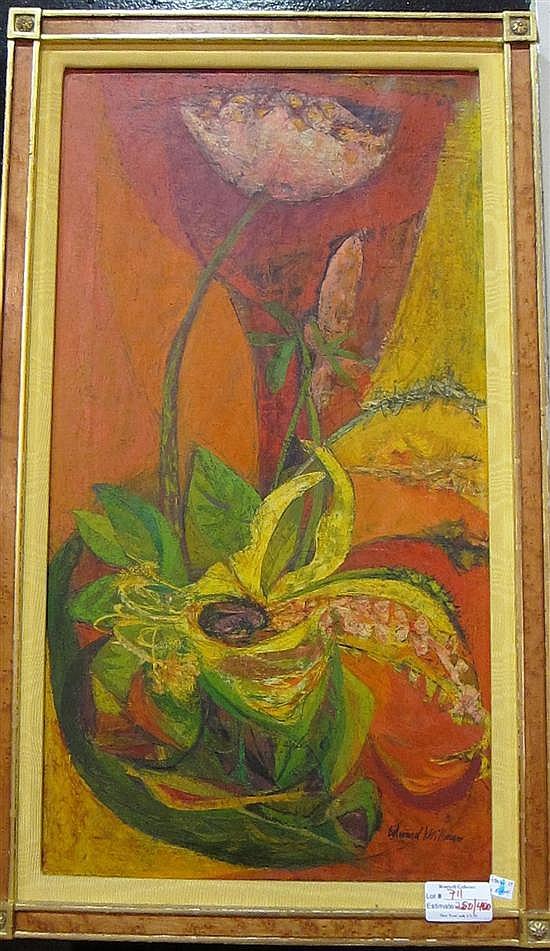 MILLMAN, EDWARD (American, b. 1907-d. 1964) : Tulip