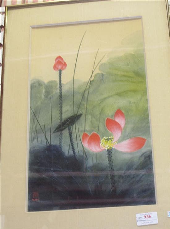 KAN, DIANA (Chinese / American, b. 1926) : Lotus