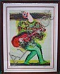 RIPOLLES, JUAN (Spanish, b. 1932): Color lithograph. Guitar player. Pencil signed lower right, numbered 59/160, Paris, 1970 lower le..., Juan García Ripollés, Click for value