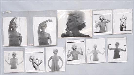 GROUP BERT STERN MARILYN MONROE