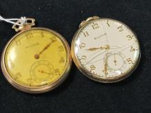 LOT OF 2 BULOVA WATCHES  AS IS