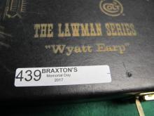 COLT WYATT EARP 22 FRONT SCOUT CHROME/BLK 13IN BAR