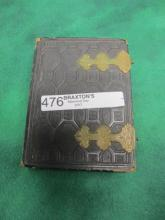 VICTORIAN PHOTO ALBUM 6X4.5IN 26 PHOTOS