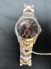 TAG HEUER LIMITED ED TIGER WOODS DATE WORK NO BOX