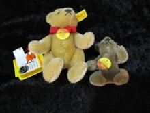 LOT OF 2 STEIFF BEARS W/ LABLES