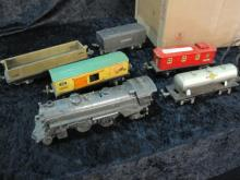 LIONEL MISC TRAIN SET, TRANS, AND TRACKS