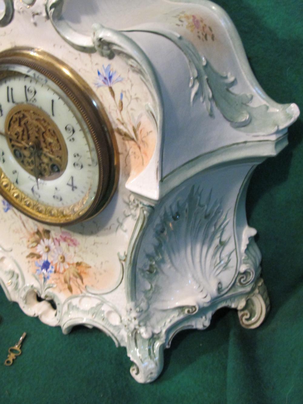 Bailey Banks Biddle Haverford Porc Clock Rare