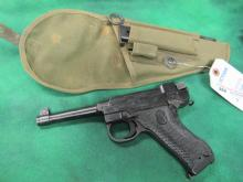HUSQVARNA LAHTI 9MM W/ ORIGINAL POUCH AND EXCESS.