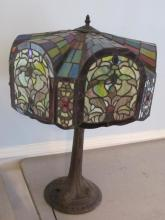 STAINED GLASS TIFFANY STYLE LAMP   NEW STYLE