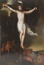 """Wohl Hans von (Jan von, Johann von) Aachen, """"Christus am Kreuz"""""""