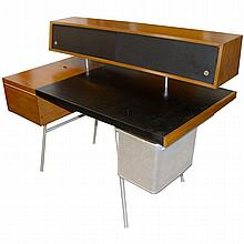 Rare George Nelson Executive Home Desk, 1940s