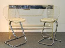 1970s Modern Design Lucite Bar Set
