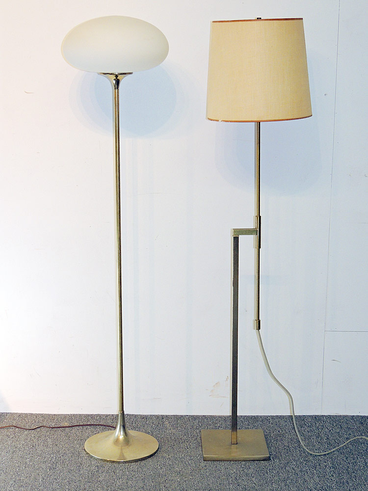 Two Laurel Floor Lamps