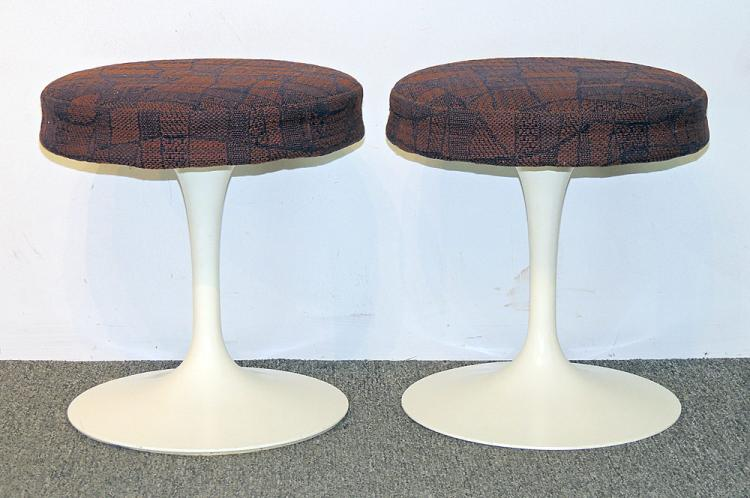 Pair of Eero Saarinen Tulip Stools