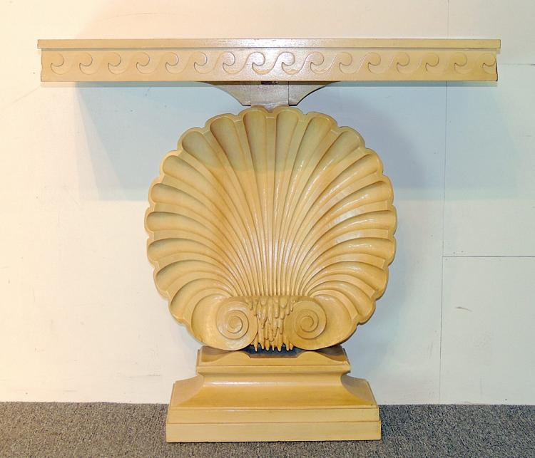 Edward Wormley Shell Console Table