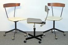 Three Modern Design Task Chairs