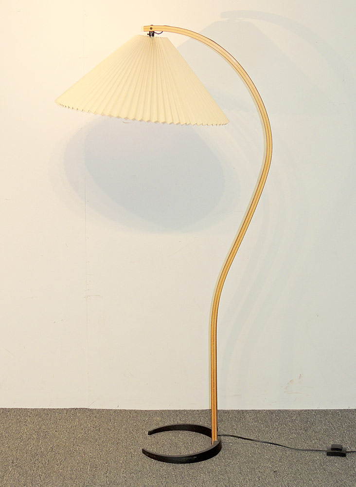 Caprani Danish Teak Floor Lamp