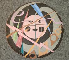 Louis Mendez Pottery Plaque
