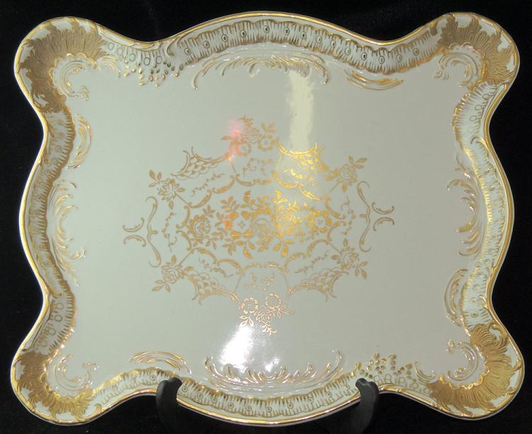 Continental Porcelain Platter
